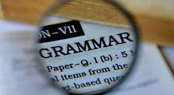 Types of Grammar Errors